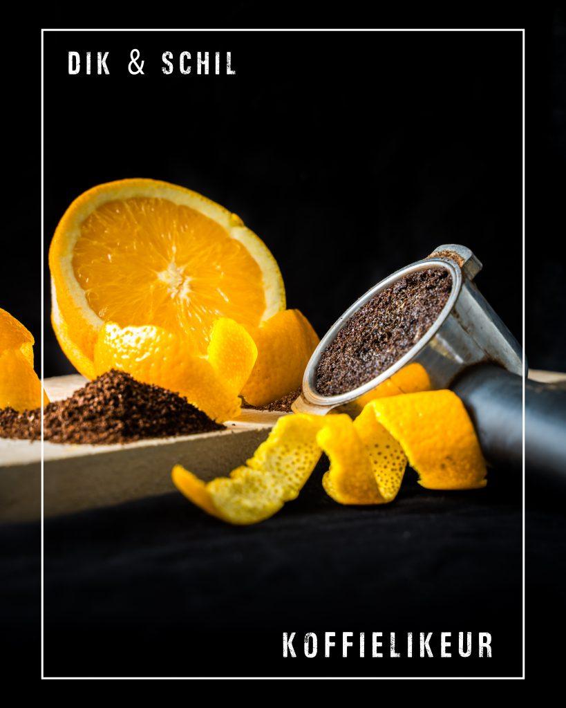 Sinaasappelschil en koffiedik likeuren
