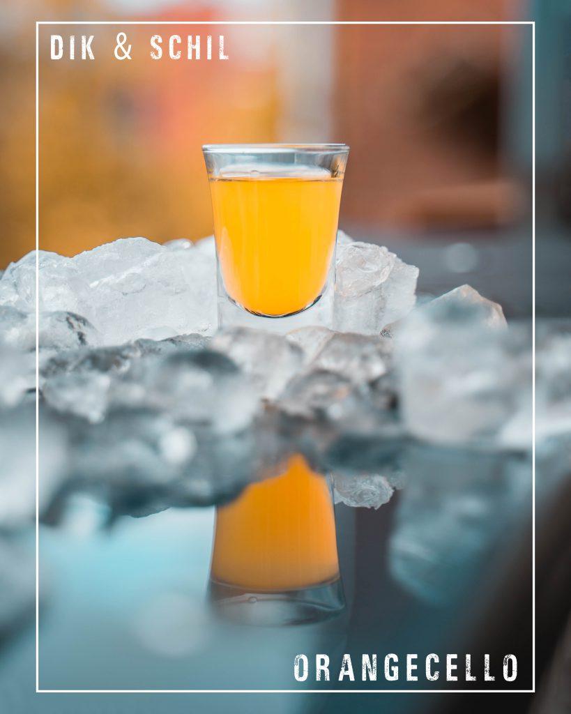 Orangecello Shot duurzame likeur