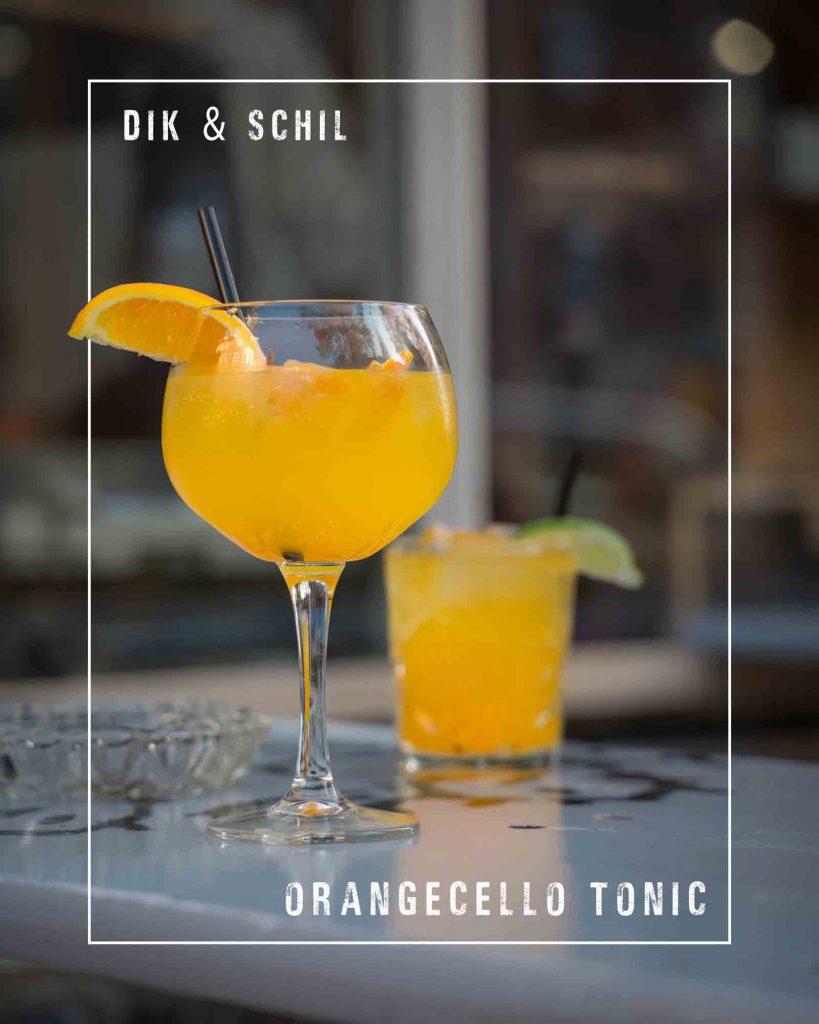Duurzame cocktail Orangecello Tonic